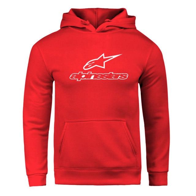 Fall / Winter 2020 Alpine Star Hoodies Men's Fleece Jacket Alpine Star Biker Sweatshirt Men's Pullover Hip Hop Casual Hoodie 4