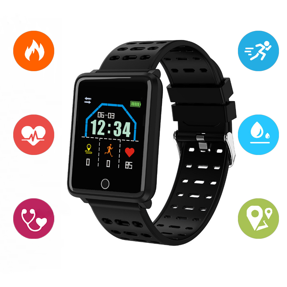 Portable Blood Pressure Tonometer Waterproof Digital Smart Wrist Watch Medical Equipment Apparatus For Measuring Pressure Sport