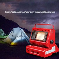 Outdoor Heater Cooker Gas Heater for Travelling Camping Hiking Picnic Equipment Used Portable Tent Stove Heater