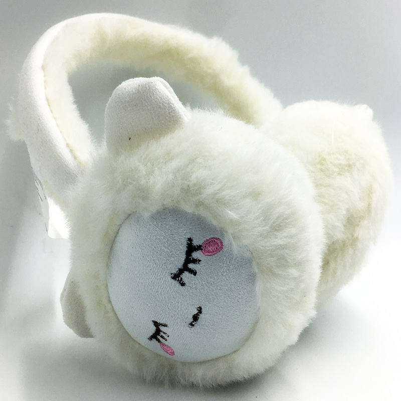 Latest Winter Plush Warm Earcap Children Lovely Bear  Design Earmuffs