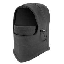 Зимний ветрозащитный наружный спортивный шлем из флиса для всего лица, для шеи, защитные маски, шапка для езды, пеших прогулок, велосипедные маски