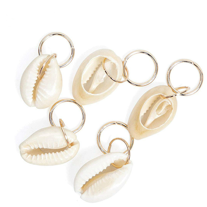 5pcs/Pack Different 4Styles Charms Hair Braid Dread Dreadlock Beads Clips Cuffs Rings Jewelry Dreadlock Clasps Accessories