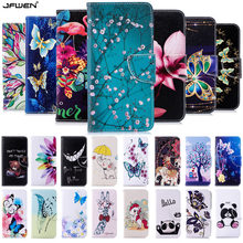 Wallet Filp Phone Cases For iphone 7 8 6 Plus X XS 11 Pro Max Case Leather For Coque iphone 7 X XS XR Case Cover With Card Slot(China)