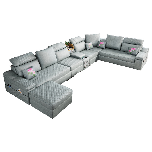 U-Shaped Detachable Living Room Sofa 1