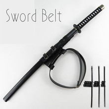 Cosplay Animation Weapon Sword Accessories Suspension And Fixing Device Of Pu Leather Sword Belt Knife