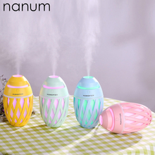 320ml Creative Car Olive Humidifier Mini USB Ultrasonic Humidifiers Led Night Light Essential Oil Aroma Diffuser Air freshener