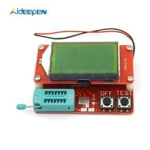 LCR-T5 ATmega328 ЖК Цифровой транзистор диодный прибор для замера, измеритель емкости сопротивления ESR метр MOS PNP NPN