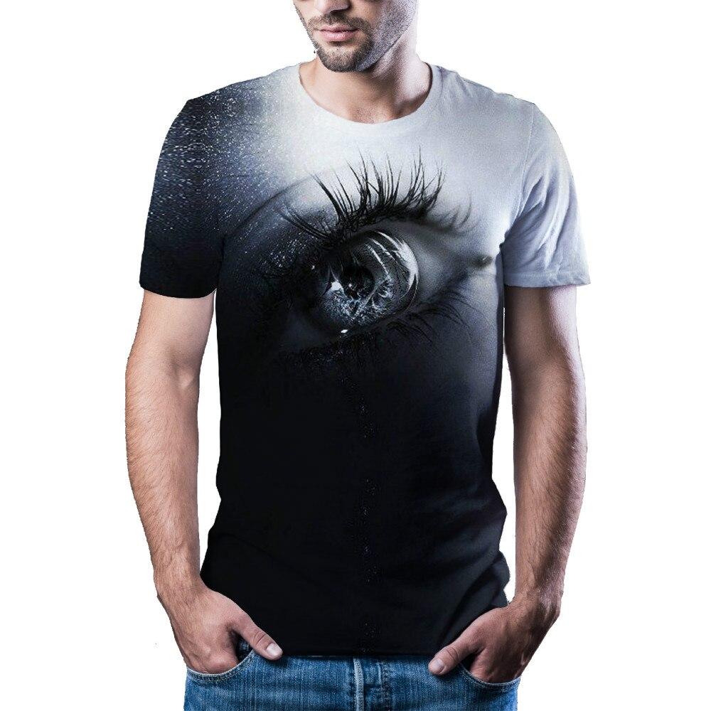 2021 с жутким черепом новую одежду 3D мужской/женский в стиле хип-хоп стиль, уличный стиль, high-end модная футболка, клоун 3D футболка с рисунком в в...