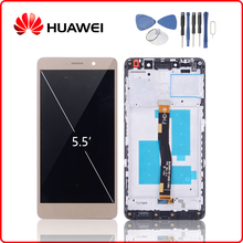 Original For HUAWEI Honor 6X LCD Display Touch Screen Digitizer Huawei Honor6X with Frame GR5 2017 BLN-AL10 BLN-L24