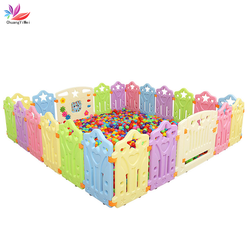Children Playpen For Children Pool Balls For Baby Playpen For Children Play Fence Kids Safety Barrier Indoor Children Play Yard