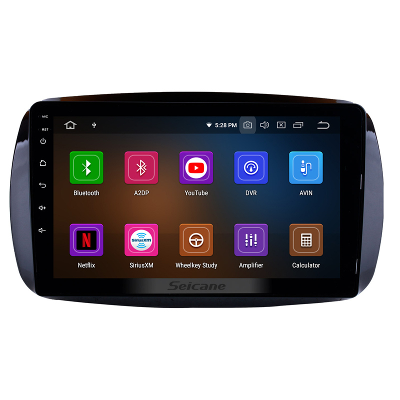 Seicane Autoradio Android 9.0 HD Navi 9