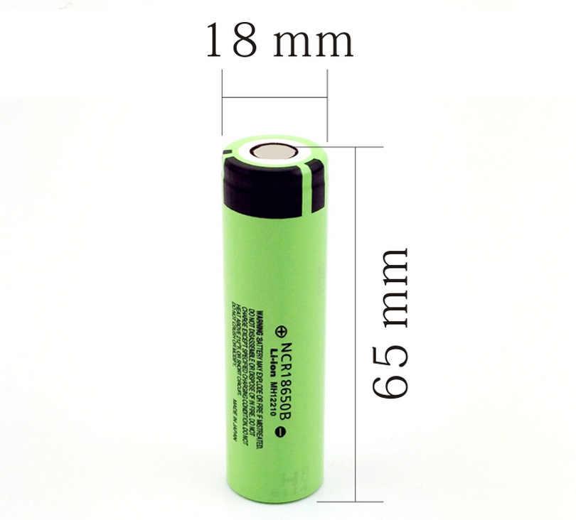 מקורי Teaegg NCR18650B 3.7v 3400 mah 18650 ליתיום נטענת סוללה פנס סוללות