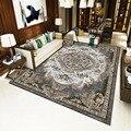 Ретро персидский цветочный ковер нескользящий моющийся ковер для спальни гостиной кухни MYDING