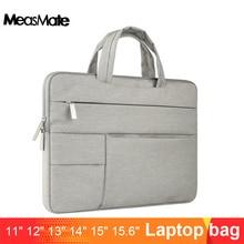 맥북 에어 13 케이스 나일론 노트북 케이스에 대한 노트북 슬리브 가방 15.6 11 14 15 인치 남성 여성용 지퍼 유니섹스 배낭