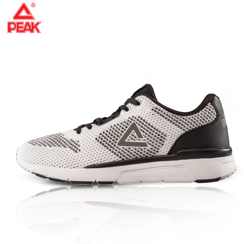 PEAK Men Sneakers Mesh Breathable Sport Shoes Male Lace Up Non-slip Men Low Athletic Sneakers Running Shoes Casual Men Shoes