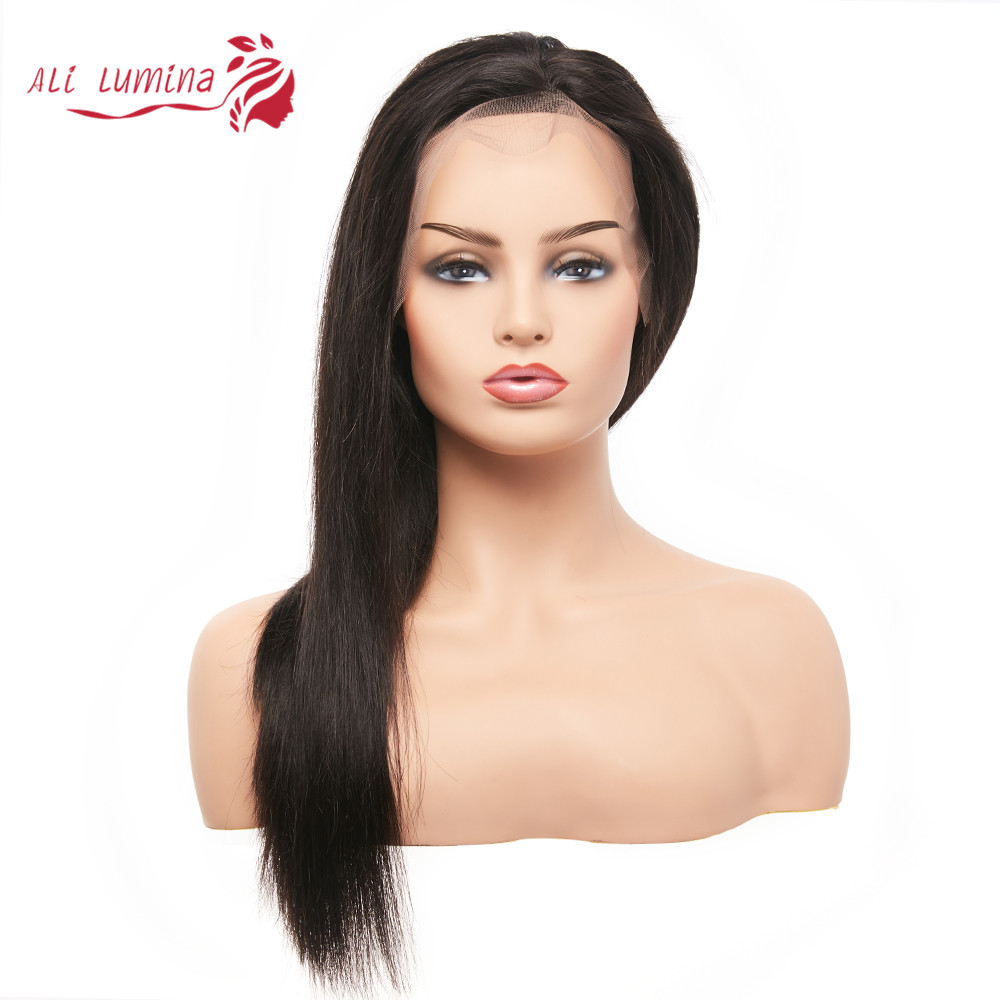 13x4 Lace Front  Wigs  Straight Lace Wigs Pre Plucked 4x4 Lace Closure Wigs With Baby Hair 1
