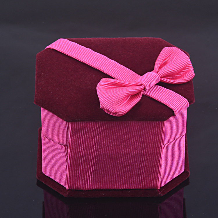 Jewlery Box Gift Box Fleece Material High-End Elegance Only For Buy Ring