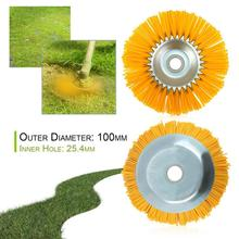 Wire Bowl Type Mechinery Brush Cutter Durable Nylon Wire Weeding Brush Wire Wheel Tools Supplies Industrial Brush