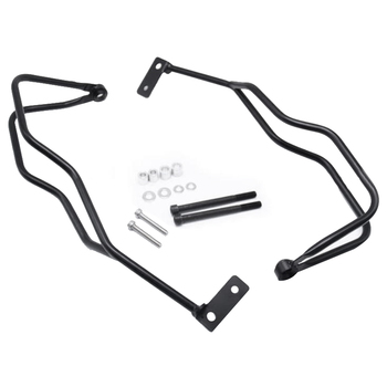 2Pcs Motorcycle Hand Guard Windshield Protection Frame Handlebar Bracket for R1200GS ADV