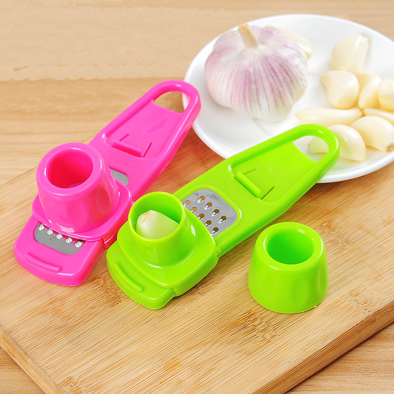 Stainless Steel Ginger Pressing Garlic Grinding Planer Slicer Cutter Grater Fruit Slicer Multi Functional For Kitchen Tool