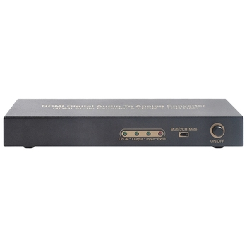 HDMI To HDMI Optical Digital To Analog Audio Extractor 7.1Ch Converter LPCM Audio DAC HDMI To 7.1 Channel Audio Converter UK Plu фото