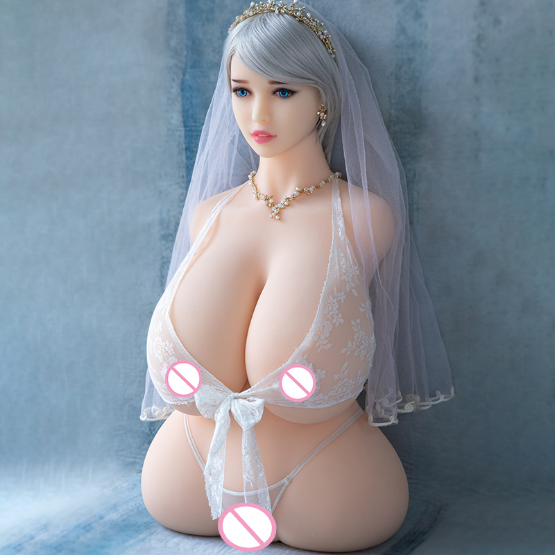 Image 3 - Hanidoll Silicone Sex Dolls 86cm Half Body Love Doll TPE Male Sex Doll Torso Realistic Vagina Big Boobs Fat Ass Chubby Sexy Doll-in Sex Dolls from Beauty & Health
