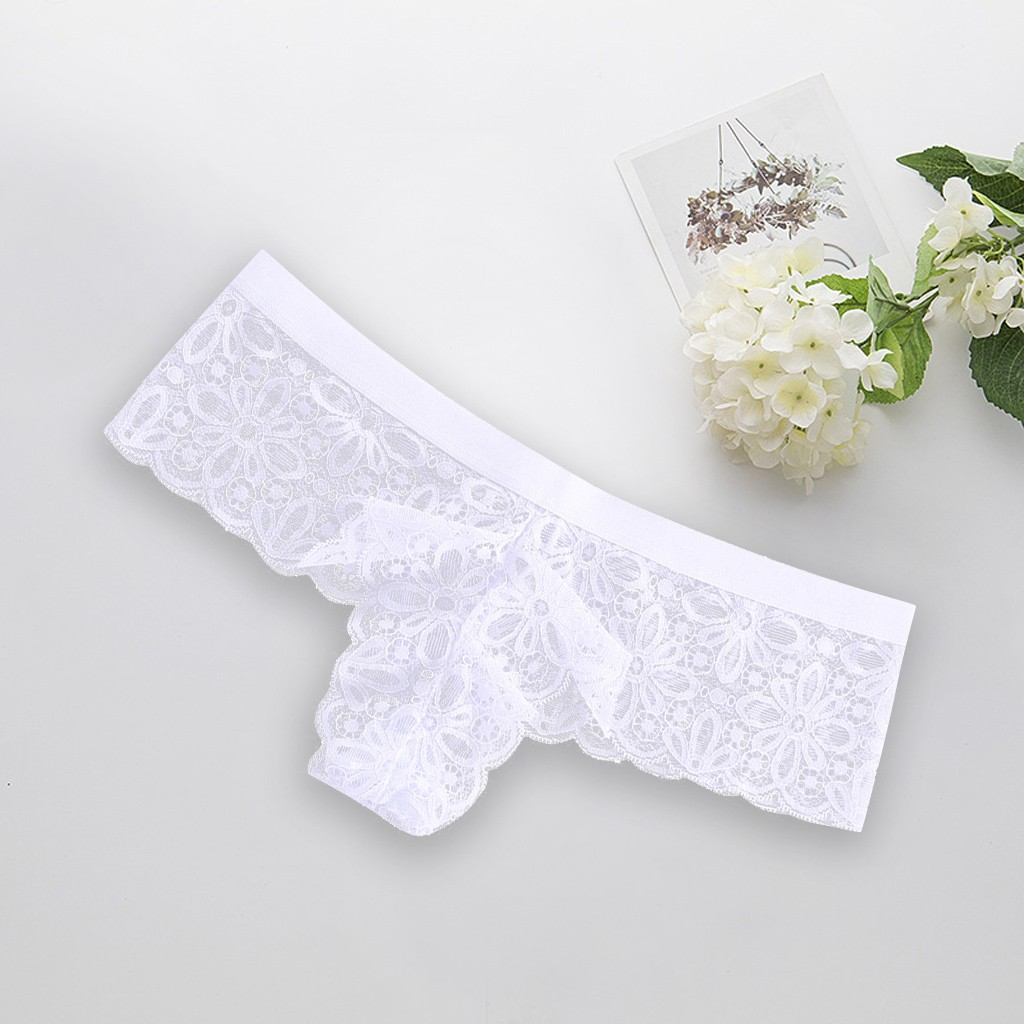 New Fashion Sexy Lingerie Lace Brief Underpant Sleepwear Underwear S-XL Spring Summer lingerie Party Sexy style Underwear