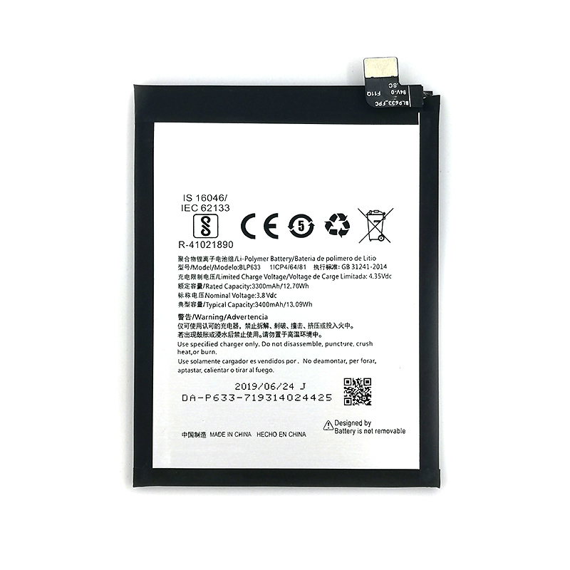 Wisecoco Fast delivery BLP633 3300mAh <font><b>Battery</b></font> For <font><b>Oneplus</b></font> <font><b>3</b></font> T Phone Latest <font><b>Battery</b></font> Replacement+Tracking Number image