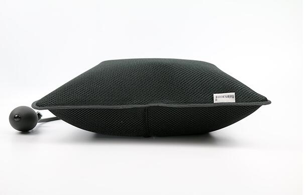 Portable And Breathable Waist Lumbar Support Car Back Seat Lumbar Inflatable Cushion  For Seat Interior Styling Accessories