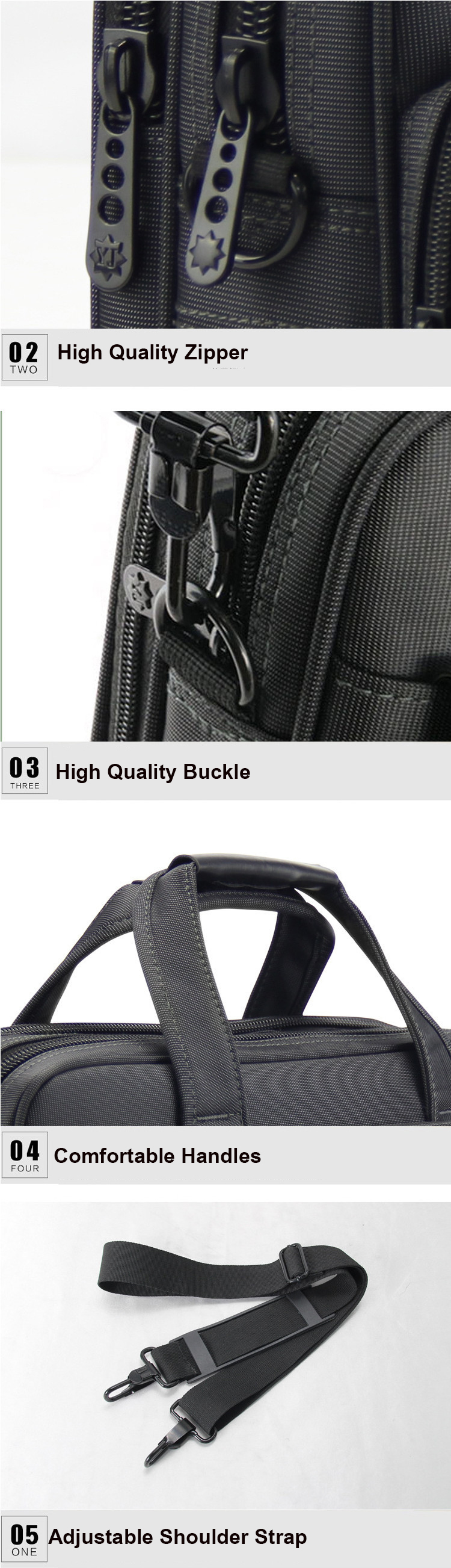 H0fb917015a304d109f38e6af4804f082W - OYIXINGER Briefcase Lawyer Men Computer Hand Bags Luxury Brand Mens Business Bag Oxford Waterproof Office Work For Maletas