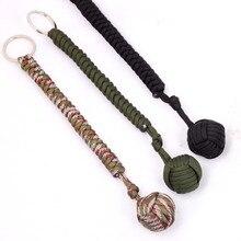Self-defense Lanyard Outdoor Security Protection Key Ring Ro