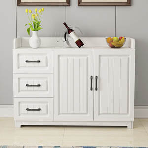 Table Cabinets Kitchen-Storage Home-Furniture Cupboard Wooden Small Stock-Desk Multi-Function