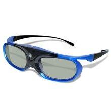 نظارات جديدة 2021 ثلاثية الأبعاد قابلة للشحن مع خاصية الغالق النشط لأجهزة عرض DLP Link Optama Acer BenQ ViewSonic نظارات حادة