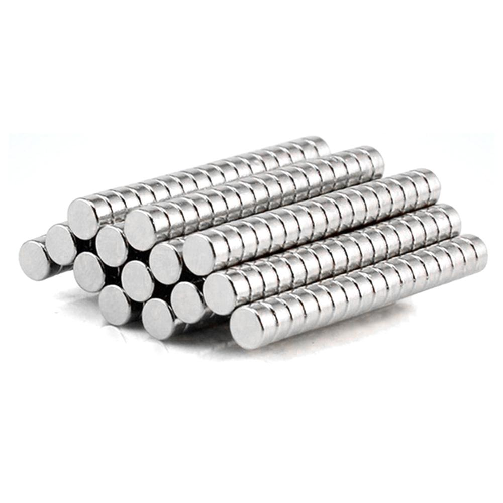 50Pcs 4x2mm Round Shape Rare Earth Neodymium Super Strong Magnetic NdFeB Magnet Stimulate Imagination