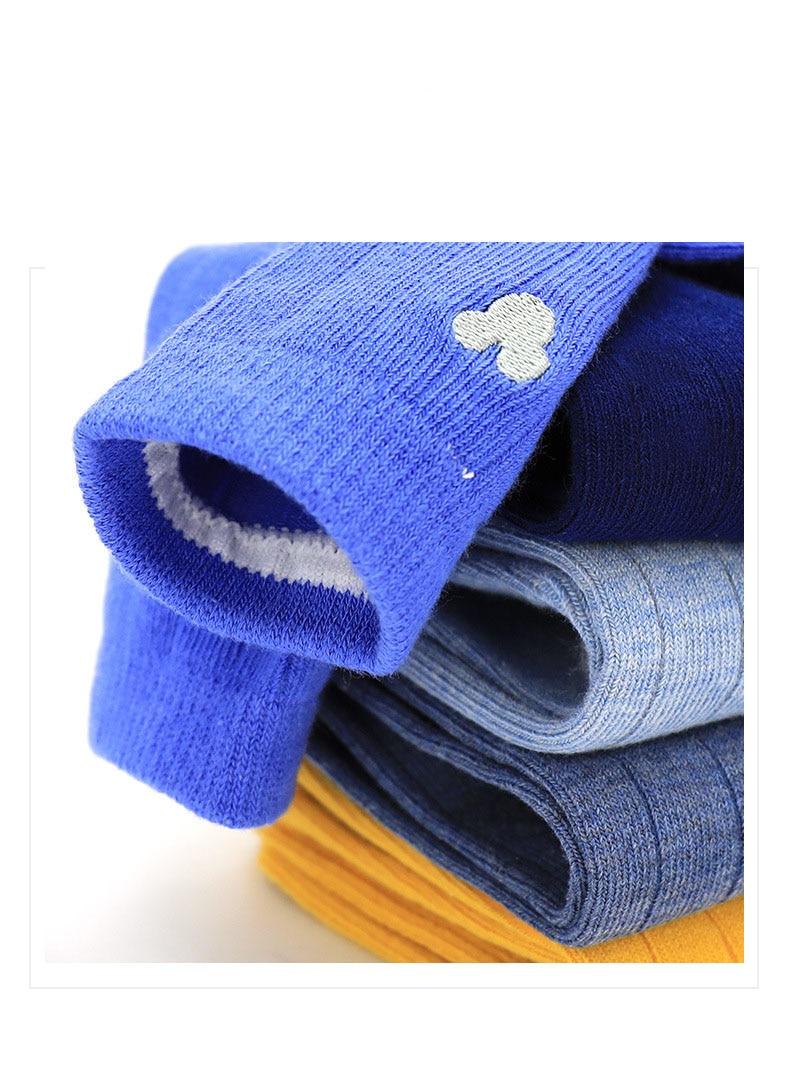 Disney Children's Socks Cotton Cartoon Mickey Mouse Short Baby Girl Socks Summer Soft Cute Boys Socks 5 Pairs/lot Suitable 2-12Y 4