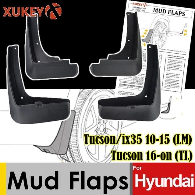 واقيات الطين لـ Hyundai Tucson ix35 2010 2015 LM 2016 on TL واقيات الطين واقيات الطين واقيات الرشاشات