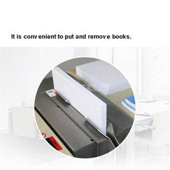 Machine à Relier | Reliure à Colle Commerciale Entièrement Automatique Classeur A4 Document Livre Papier Graphique Thermofusible Collage Machine à Relier DC-8500DA