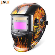 Solar Auto Darkening Welding Mask TIG MAG MIG welding helmets for welding working Li battery mask