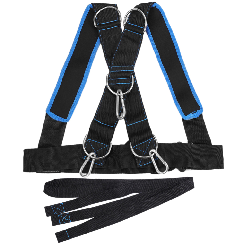 New Fitness Sled Harness Workout Speed Trainer With Pull Strap For Resistance Training Fitness Anti-Resistance Sled Car Strap