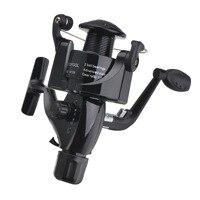 낚시 코일 나무 핸드 셰이크 6 BB 스피닝 낚시 릴 전문 금속 왼쪽/오른쪽 손 낚시 릴 바퀴