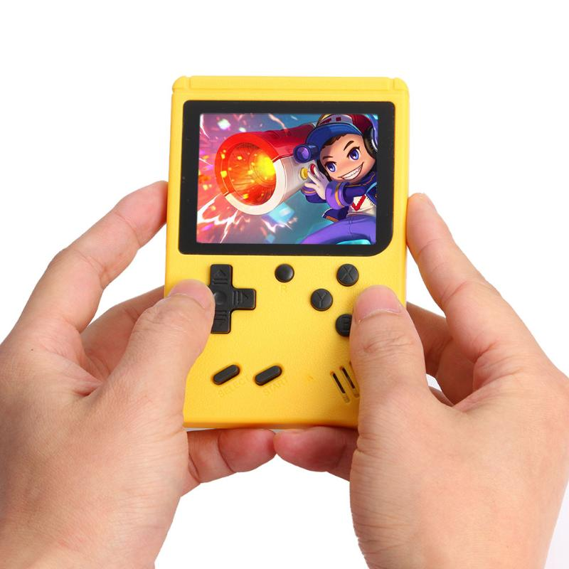 Handheld Video Games Console 8-Bit Built-in 400 Classic Games 3.0 Inch TFT Display Retro Gaming Player
