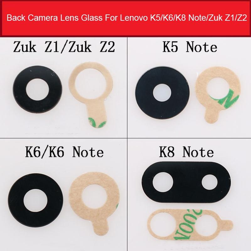 Back Camera Glass Lens Cover For Lenovo K5 K6 K8 Note ZUK Z1 Z2 Rear Camera Lens Cover + Adhesive Sticker Replacement Repair