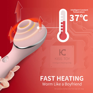 Image 3 - KISS TOY can heat the G point to attract the vibrator, nipple sucker, clitoral massager vibrator, female masturbation sex toys