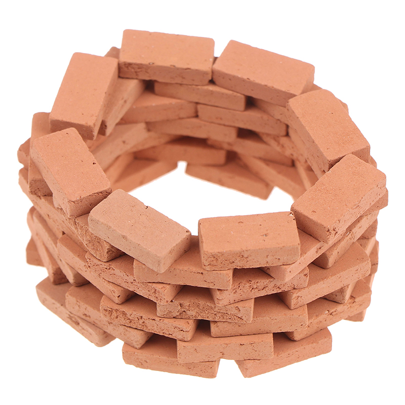 70PCS Miniature DIY Durable Sand Table Diorama Landscape Kids Scenery Building Toy Modelling Simulation Brick Portable