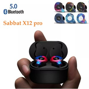 Image 1 - Sabbat X12 פרו אלחוטי אוזניות Bluetooth 5.0 אוזניות ספורט Hifi אוזניות דיבורית אוזניות עמיד למים עבור סמסונג iPhone HuaWei