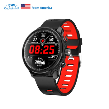 US CaptainHF Smart Watch Bluetooth for iOS/Android IP68 Waterproof Sport Smart Watch Bracelet Pedometer Heart Rate Fitness Watch diggro di10 smart sport watch ip68 waterproof pedomete long standby time bluetooth 4 0 smart 1 21 inch watch for ios android