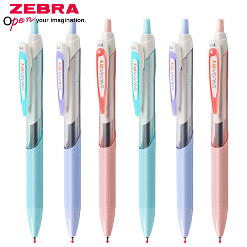 ZEBRA Gel Pen JJ31/JJS31 SARASA Dry Student Quick-Drying Pen Test Smooth Press Gel Pen 0.5mm Black Refill