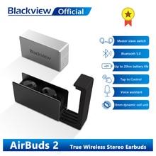 TWS-наушники Blackview AirBuds 2 с поддержкой Bluetooth 5,0 и зарядным футляром