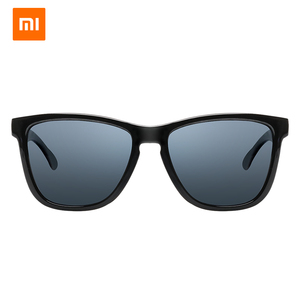 Image 2 - Originele Xiaomi Mijia Klassieke Vierkante Zonnebril Selfrepairing Tac Polariserende Lens Geen Scew Zonnebril 6 Laag Polariserende Film