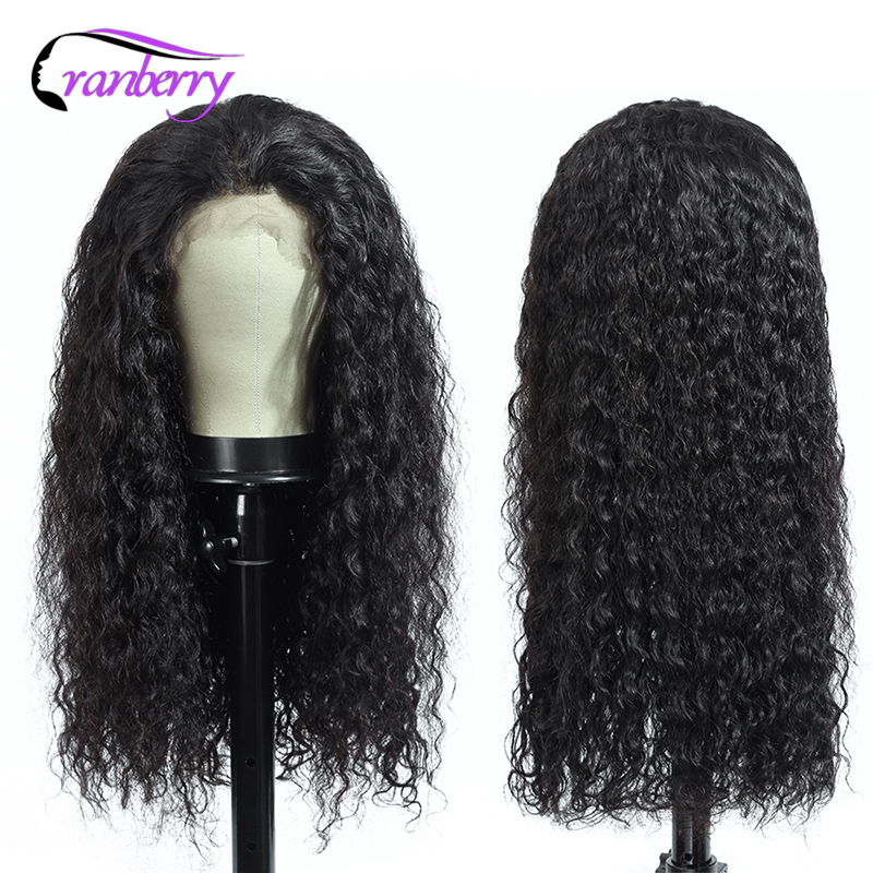 Cranberry Hair 360 Lace Frontal Wig Water Wave Wig 100% Remy Hair Brazilian Wig Human Hair Wigs For Black Women Free Shipping
